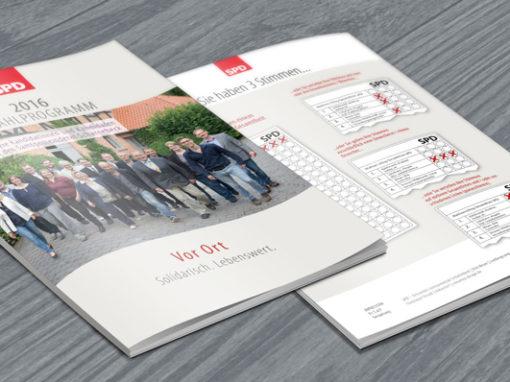 12-seitige Wahlbroschüre