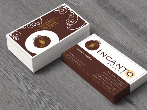 Logoentwicklung, Website, Geschäftsausstattung